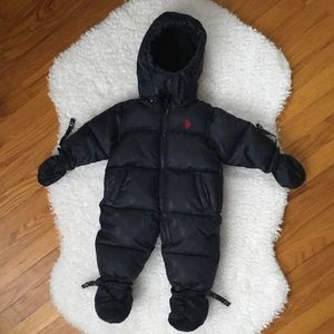 Fleece Zip Front Jacket Purple NWT Baby Girls Size 3//6M US POLO ASSN